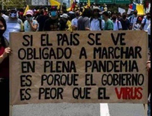En Colombia, el gobierno nos está matando